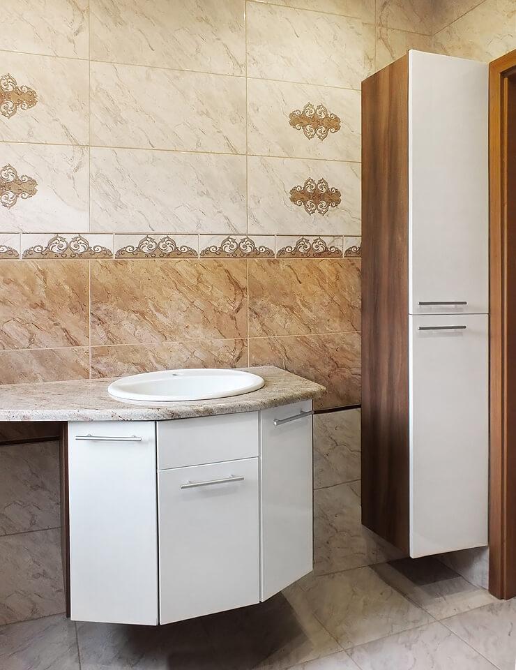 Nowoczesne szafki łazienkowe wiszące