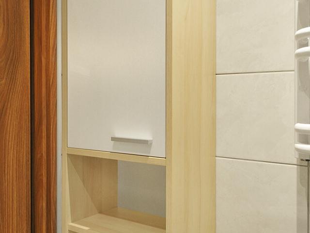 Szafka łazienkowa na ręczniki stojąca